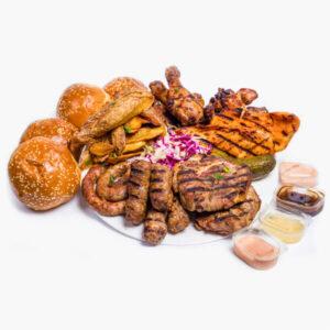 Platou Grill 4 persoane delivery livrare food comanda order Bucuresti