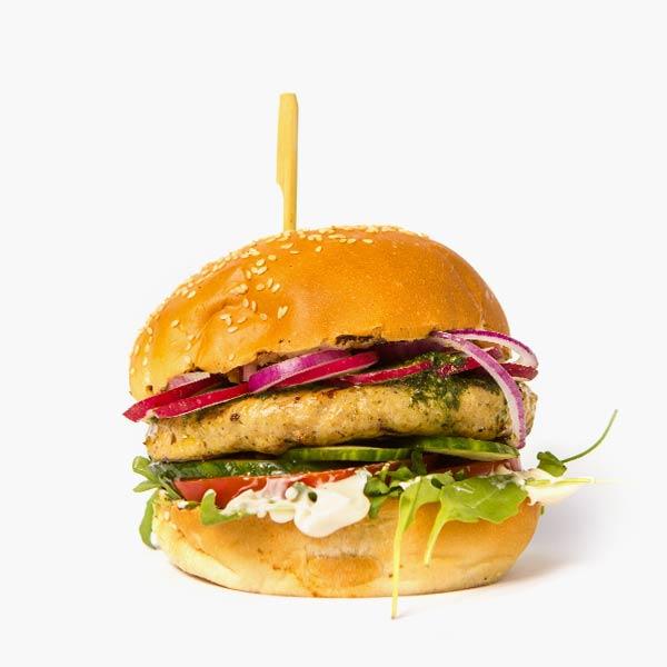 Pesto Turkey Burger delivery livrare food comanda order Bucuresti