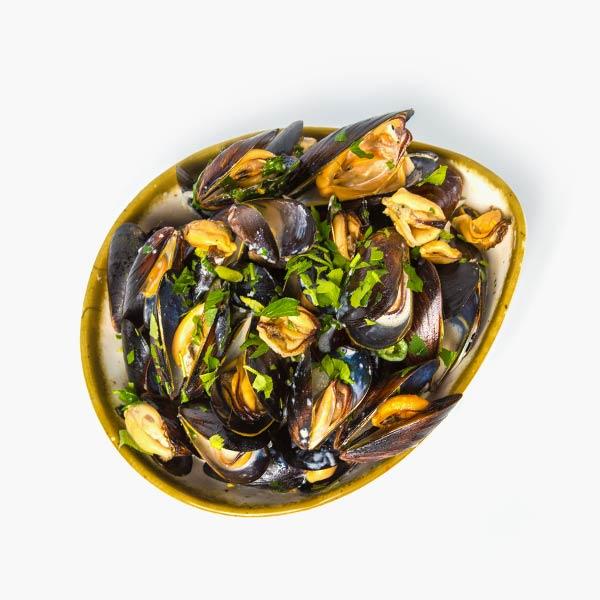 Scoici in sos alb by Chef Scarlatescu delivery livrare food comanda order Bucuresti