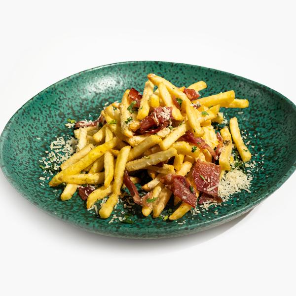 Cartofi prajiti cu bacon Bucuresti comanda delivery livrare mancare